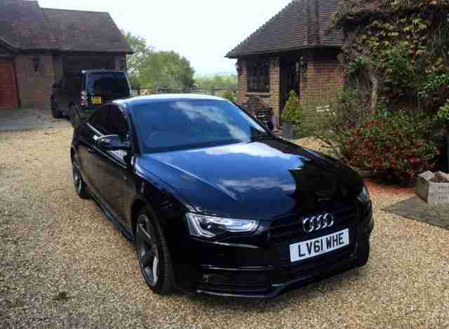 A5 2.0 TDI Black Edition Multitronic 2dr