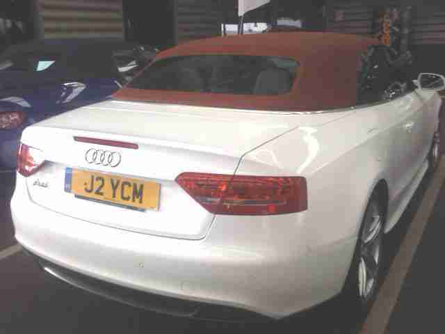 A5 Convertible 2.0 TDI S Line 170hp