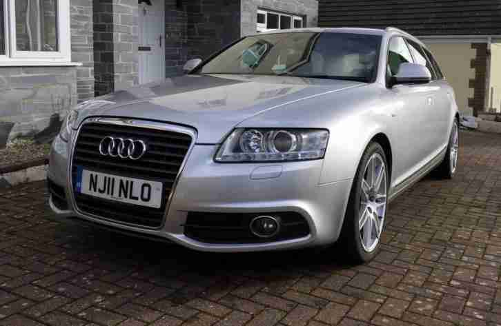 Audi A6 Avant 2 0 Tdi S Line Special Edition Multitronic 5dr 2011