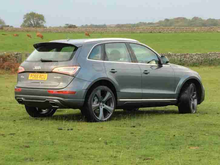 Audi Q5. Audi car from United Kingdom