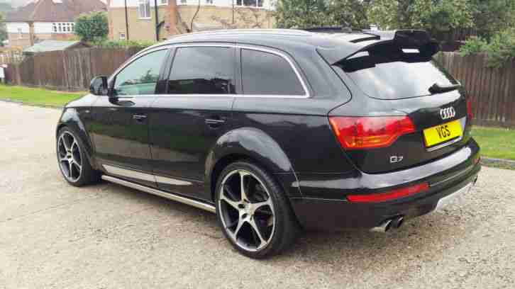 audi q7 3 0 tdi quattro s line 5dr tip auto abt as7 pan roof sat. Black Bedroom Furniture Sets. Home Design Ideas