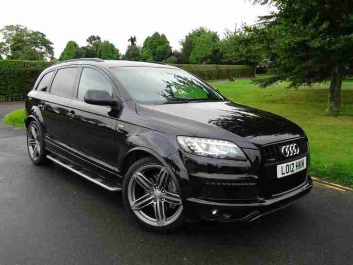 Audi Q7 TDI. Audi car from United Kingdom