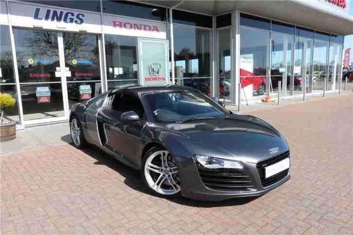 Audi R8 4.2 Quattro UNDER 30,000 MILES FROM NEW Grey