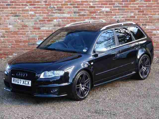 Audi RS4 Quattro 5dr 4.2 TRACKER - SAT NAV - SUNROOF PETROL MANUAL 2007