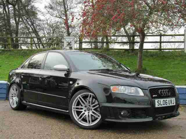 Audi RS4 Saloon 4.2 2006 quattro STUNNING CONDITION UPGRADED SEATS