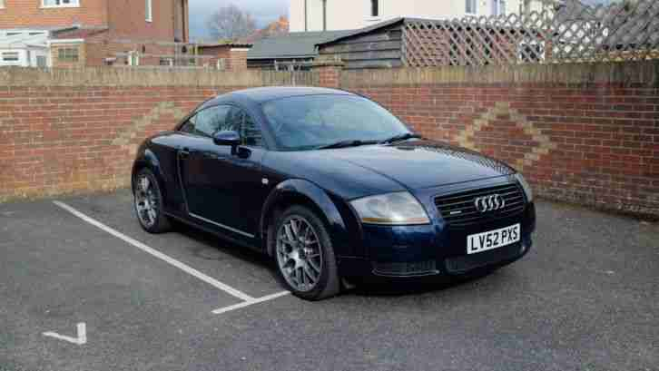 Audi TT 1.8. Audi car from United Kingdom