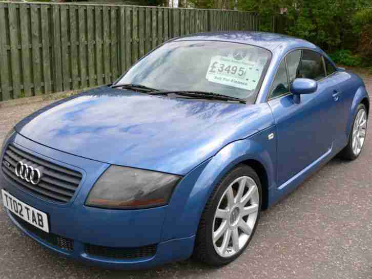 audi tt coupe 1 8 180bhp 2002 t quattro car for sale. Black Bedroom Furniture Sets. Home Design Ideas