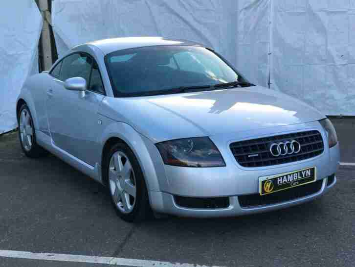 Audi TT Coupe 1.8 ( 180bhp ) 2004 T quattro Only 62,300 Miles, Immaculate