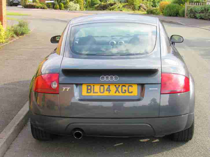 Audi TT Coupe 1.8 ( 180bhp )T quattro, Pearl Grey+FSH+Low Miles+Bluetooth