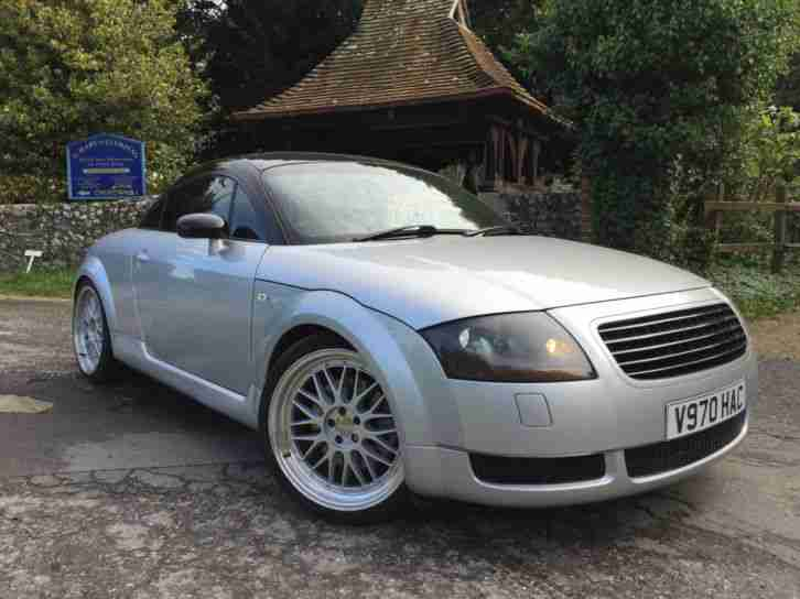 audi tt coupe 1 8 225bhp 1999my t quattro in silver. Black Bedroom Furniture Sets. Home Design Ideas