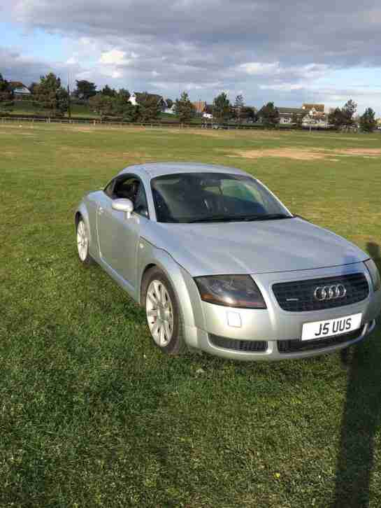 Audi TT Coupe. Audi car from United Kingdom