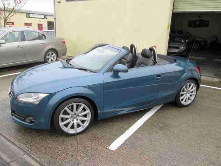 audi tt roadster 3 2 v6 2009my quattro petrol blue car for sale. Black Bedroom Furniture Sets. Home Design Ideas