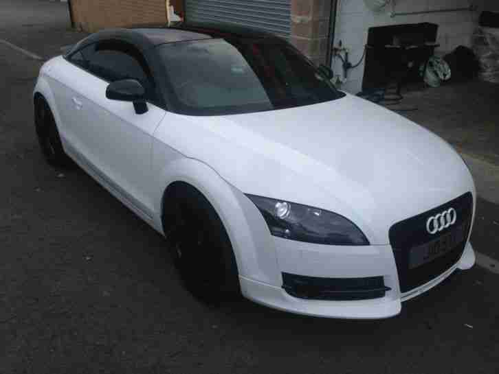 Audi Tt White 2 0 Tfsi 250bhp Turbo 74k Black Edition Car