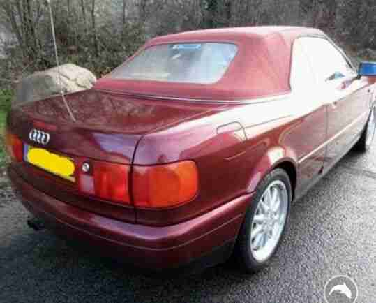 Audi cabriolet 2.6 v6 1999 Auto .power roof