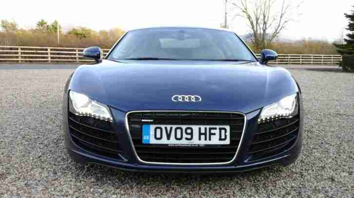 r8 v8 manual 2009 26,000 miles only