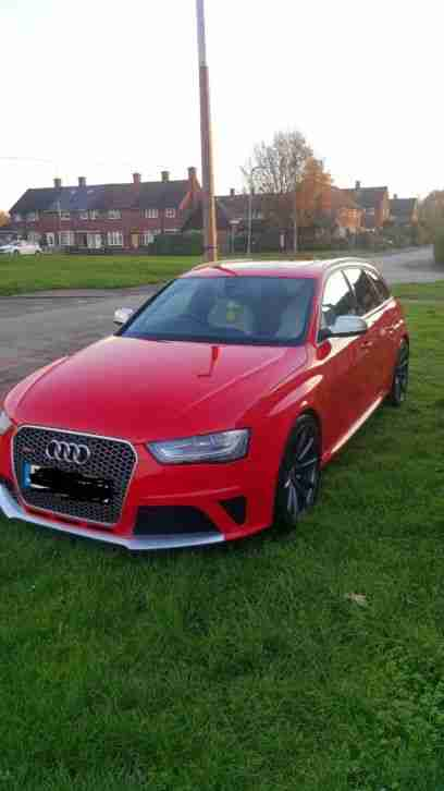 Audi Rs4 b8. Audi car from United Kingdom