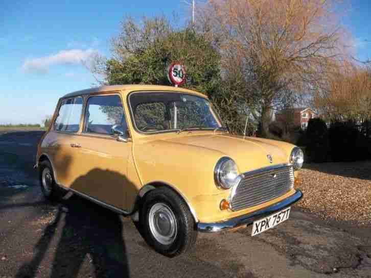 Austin Mini 1000 2 Door Saloon PETROL MANUAL