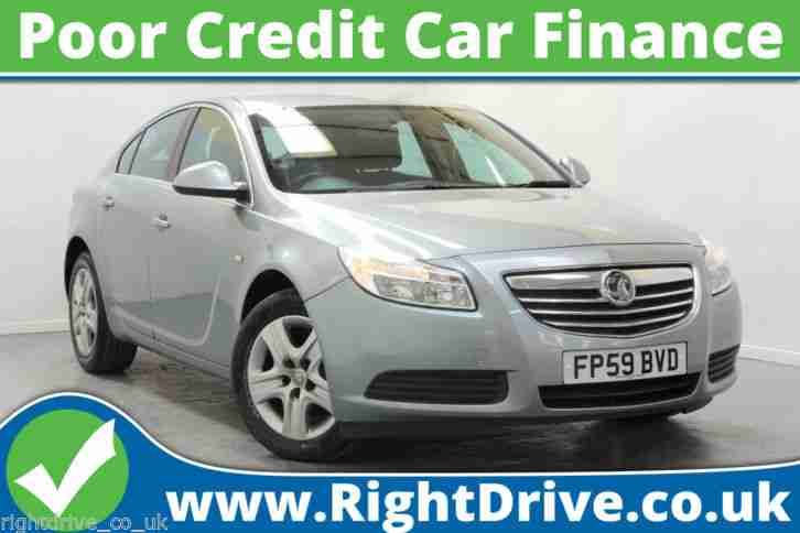 BAD CREDIT CAR FINANCE Vauxhall Insignia,