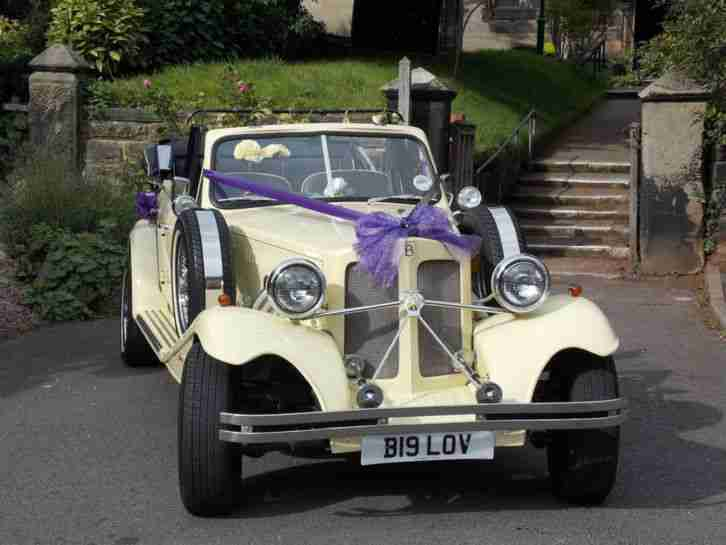 BEAUFORD WEDDING CAR LIMOUSINE