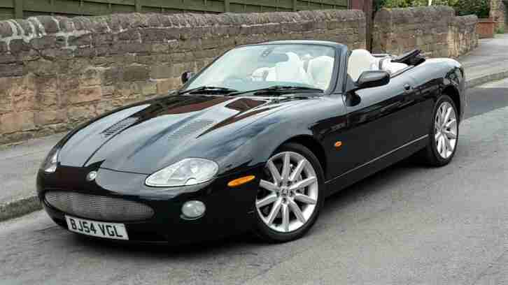 BEAUTIFUL SUPER CHARGED 2005 XKR 4.2