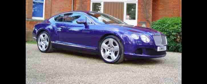 Bentley Continental Gt 6 0 W12 Mds 570 2dr Coupe Car For Sale