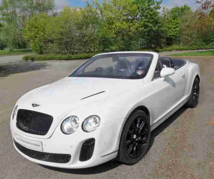 Bentley CONTINENTAL GTC CABRIOLET 6.0 W12 2013 SUPERSPORT