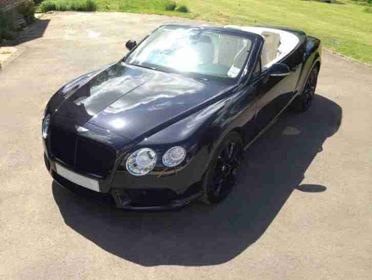 BENTLEY CONTINENTAL GTC V8 MULLINER 2012 Petrol Automatic in Black