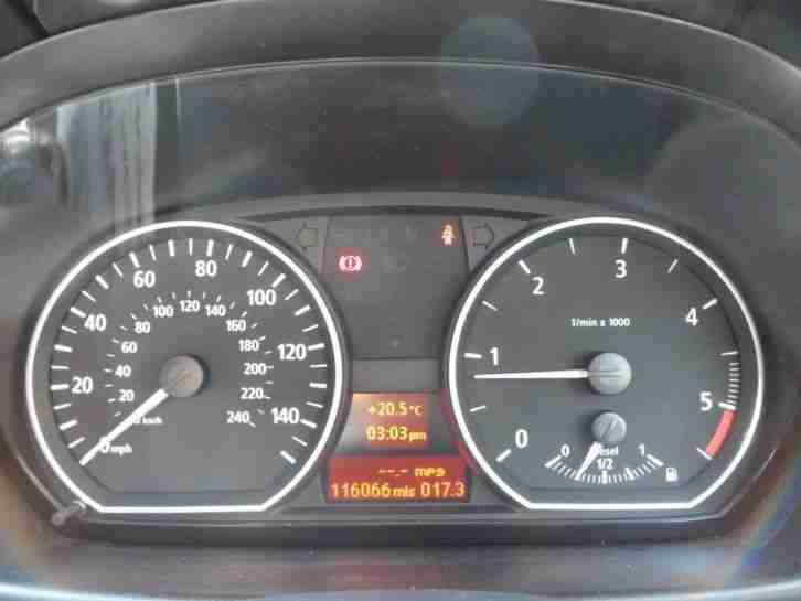 BMW 1 SERIES 118D SPORT 2005 Diesel Manual in Red