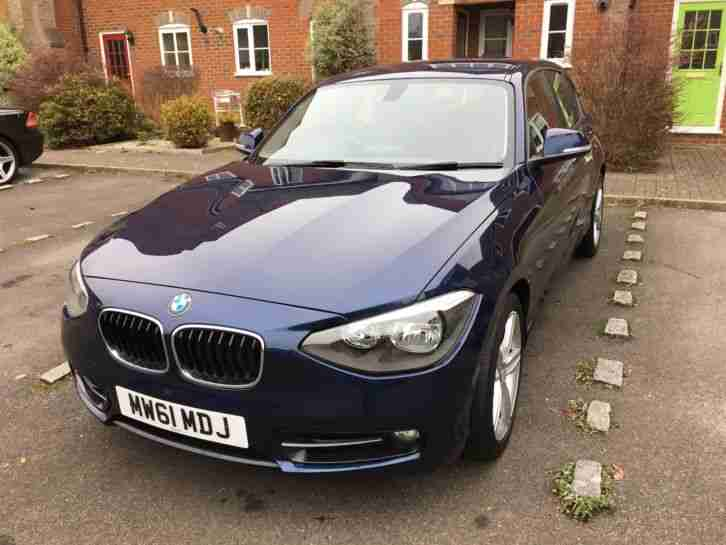1 Series 2.0 118d Sport 5dr, Auto, 2 new