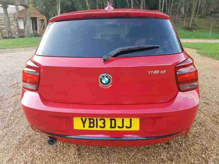 BMW 116 2.0TD ( bhp ) ( s/s ) Sports Hatch 2013MY d Sport