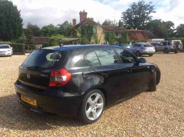 BMW 118D SPORT 2.0 TD 6 SPEED 5 DOOR HATCHBACK