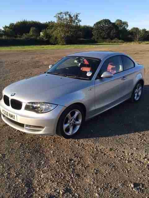 120D SE Coupe 1 Series Auto, Heated Red