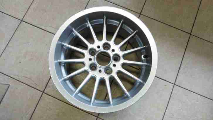 BMW 17 INCH MULTI SPOKE ALLOY WHEEL,