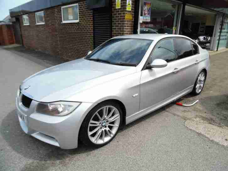 BMW 3 SERIES 320D M SPORT IN TITANIUM SILVER 2007 Diesel Manual in Silver