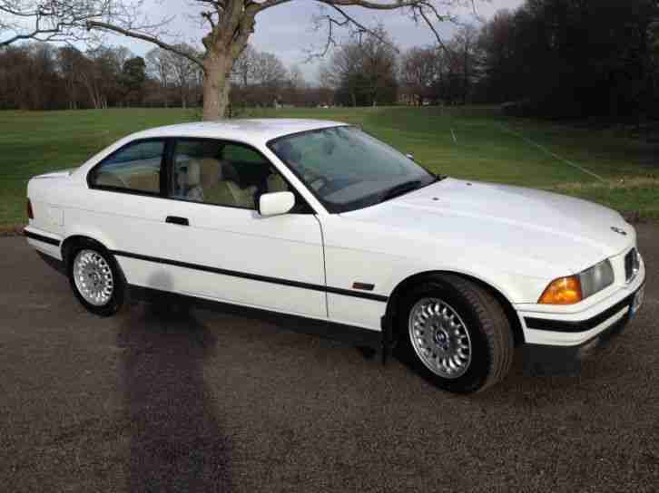 bmw 3 series 328i coupe 1995 petrol automatic in white car for sale. Black Bedroom Furniture Sets. Home Design Ideas