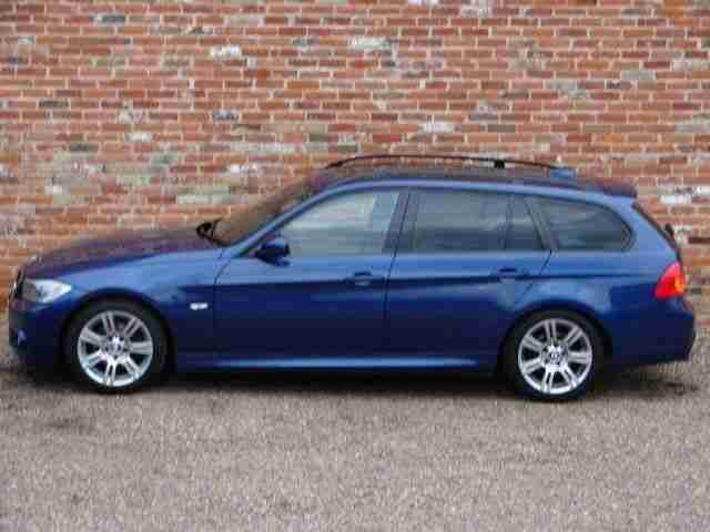 BMW 3 Series 2.0TD 320d M Sport Touring 5dr PANO ROOF - AC - HE DIESEL 2010
