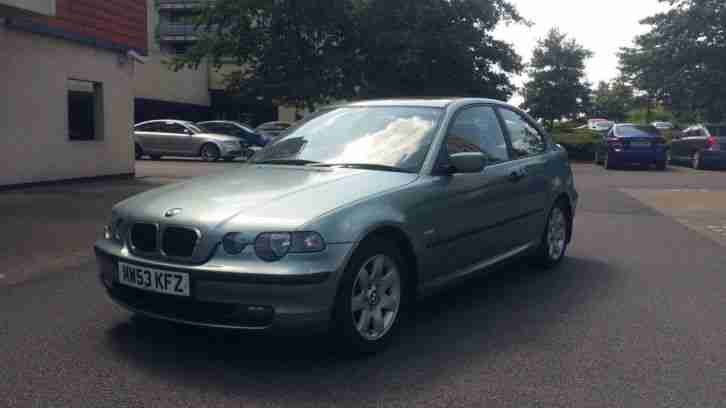 bmw 316ti se compact automatic low mileage sunroof new mot must. Black Bedroom Furniture Sets. Home Design Ideas