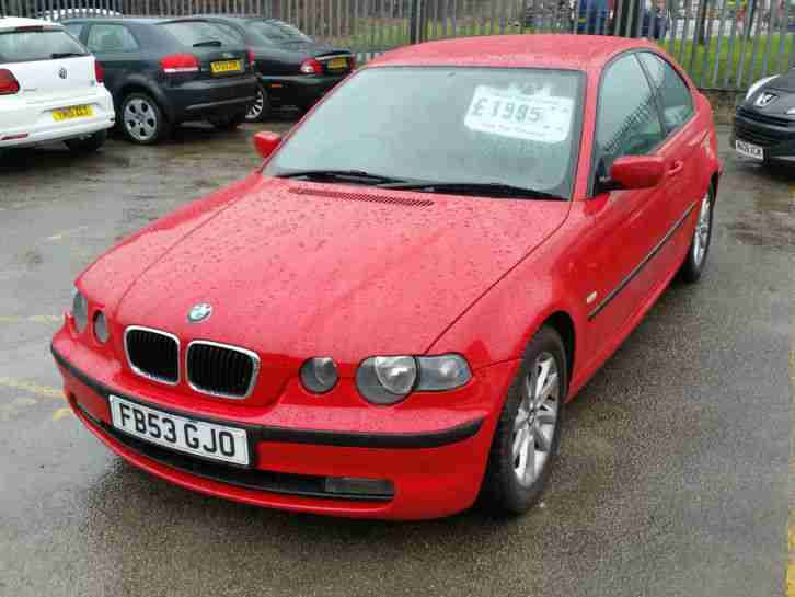 bmw 316i ti compact 1796cc petrol 2003 53 clean 5 speed full car for sale. Black Bedroom Furniture Sets. Home Design Ideas