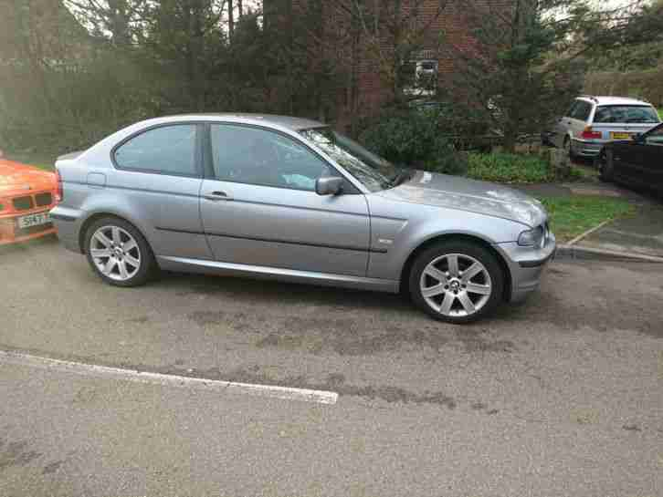 Bmw 316ti 1 8 2004 04 E46 Compact Damaged Salvage Not Recorded 81k Miles Mot D