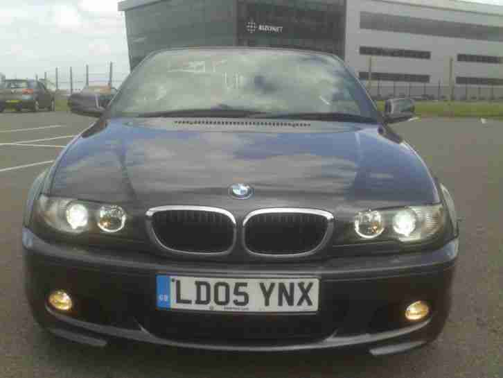 BMW 318CI SPORT CONVERTIBLE (LEATHER)