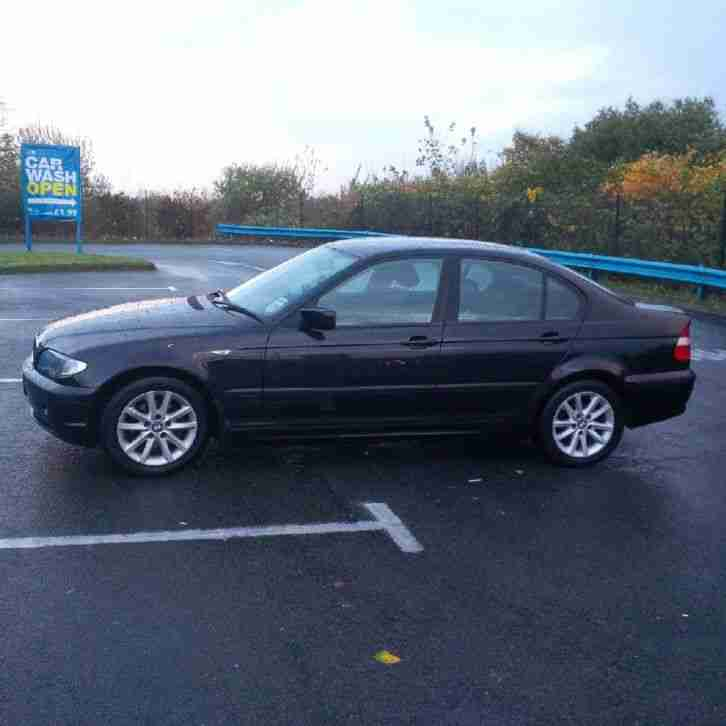 BMW 318D ES BLACK 2004. Car For Sale