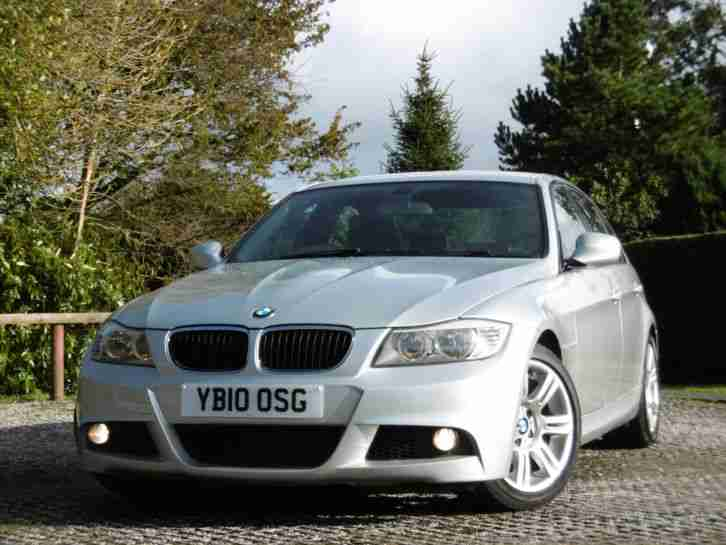318D M SPORT IN PERFORMANCE SILVER LOW