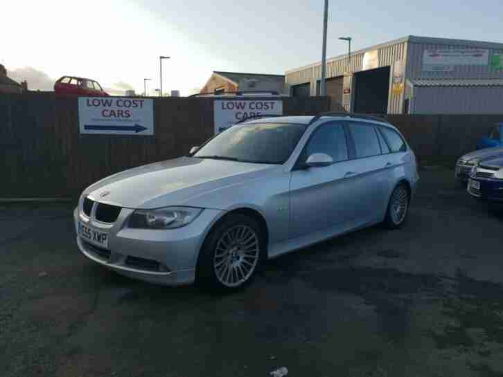 BMW 2.0TD. BMW car from United Kingdom