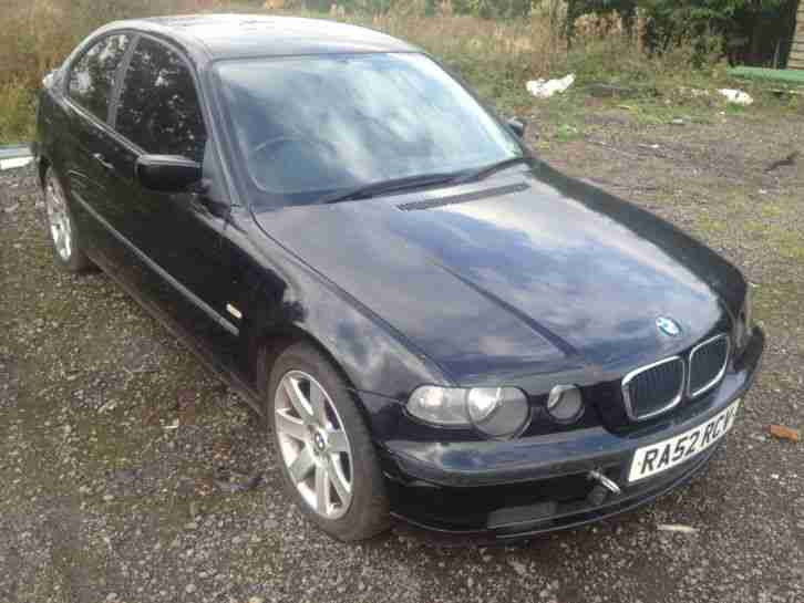 bmw 320 td se compact 2003 86k spares or repair non runner car for sale. Black Bedroom Furniture Sets. Home Design Ideas