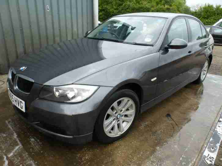 BMW 320I SE GREY, SPARES OR REPAIR, EXPORT SALVAGE, REPAIRABLE, 2005