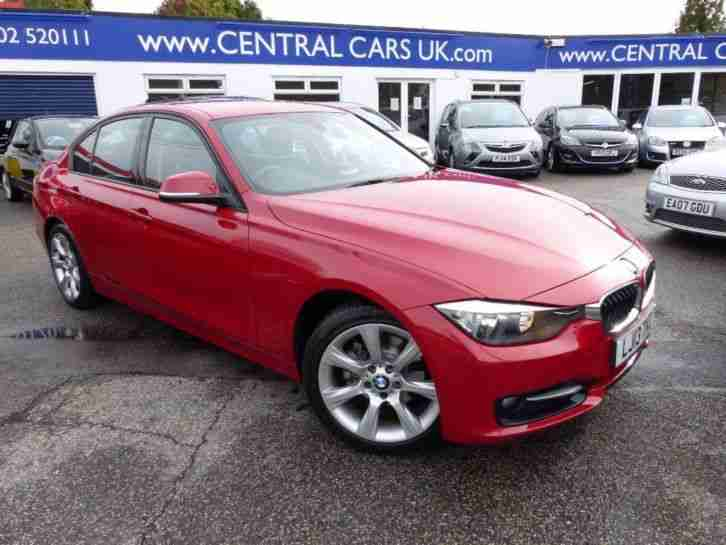 bmw 320d 2 0 sport turbo diesel in red car for sale. Black Bedroom Furniture Sets. Home Design Ideas