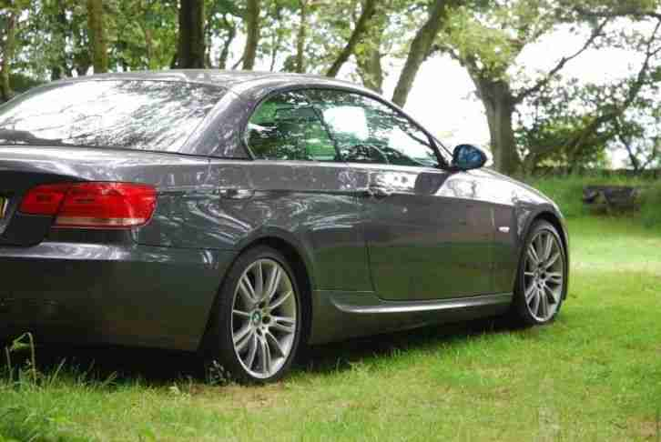 bmw 320d diesel convertible e93 coupe 2008 msport auto. Black Bedroom Furniture Sets. Home Design Ideas