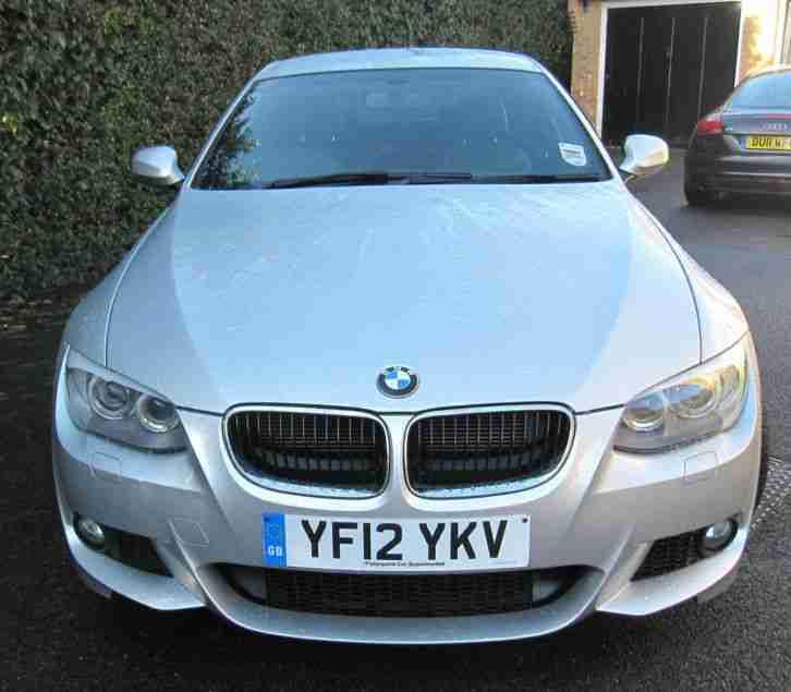 BMW 320d M Sport Auto 2.0 Ltr (silver) 2012. Car For Sale