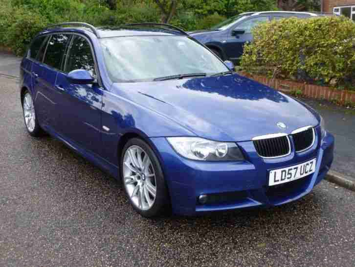bmw 320d m sport tourer auto 57 plate with new engine and turbo car for sale. Black Bedroom Furniture Sets. Home Design Ideas