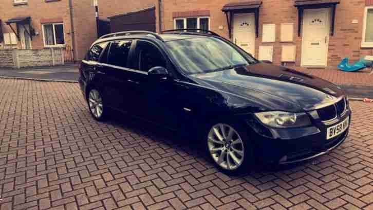 BMW 320d edition se touring 58reg fsh full black leather